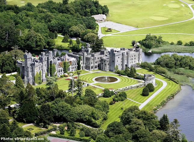 ASHFORD CASTLE - CONG ON THE MAYO/GALWAY, IRELAND