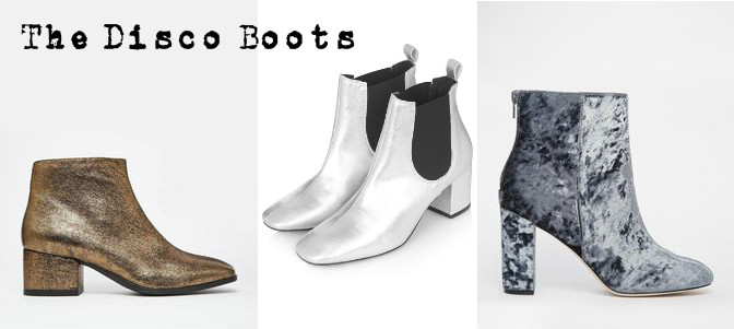 Disco party boots wishlist for aw15