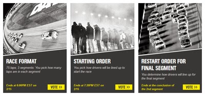 Decide The Rules By Voting For The Sprint Unlimited At Daytona.
