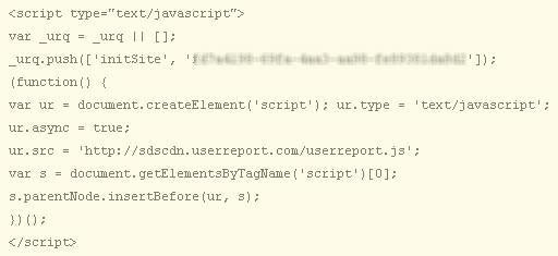 Demographics analytics script code