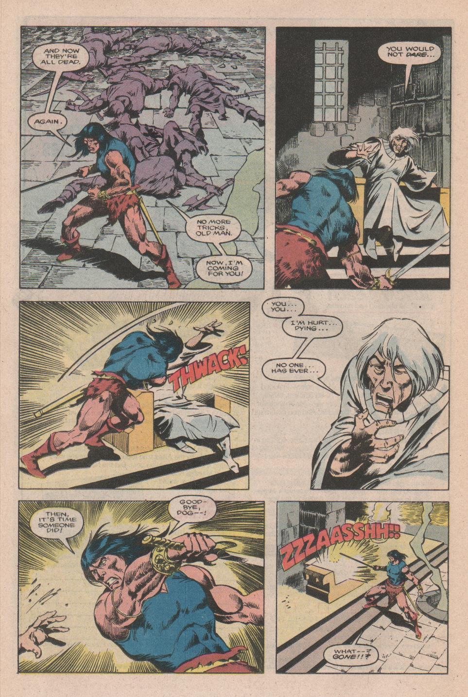 Conan the Barbarian (1970) Issue #177 #189 - English 18