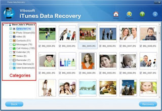 Download Free Vibosoft iTunes Data Recovery 5.0.0.1