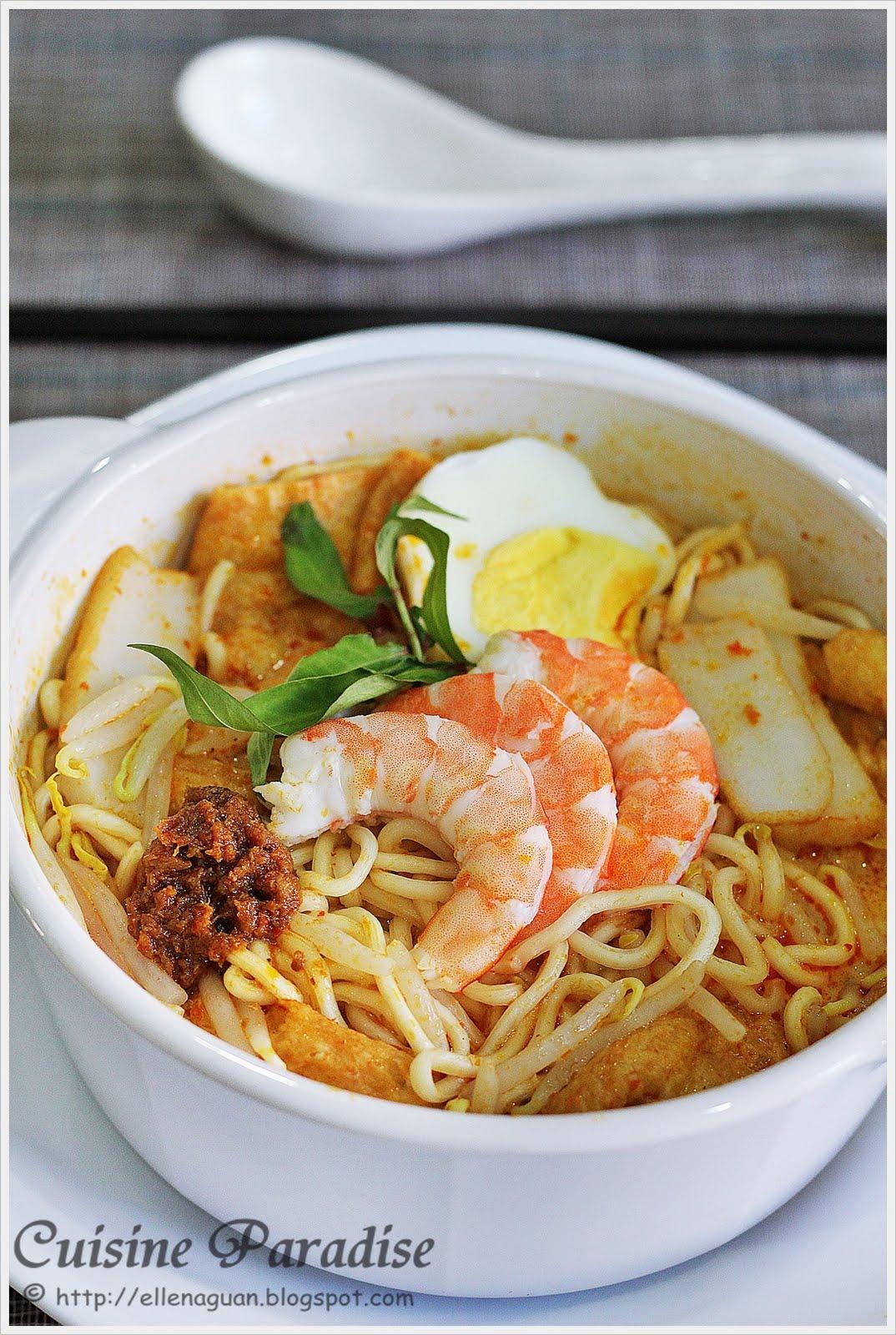 Food Recipes: Giveaway Prima Taste Singapore Laksa La Mian
