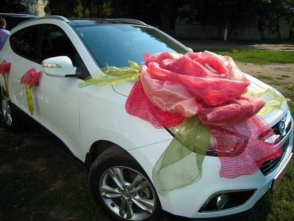 Украшение автомобилей свадьба своими руками