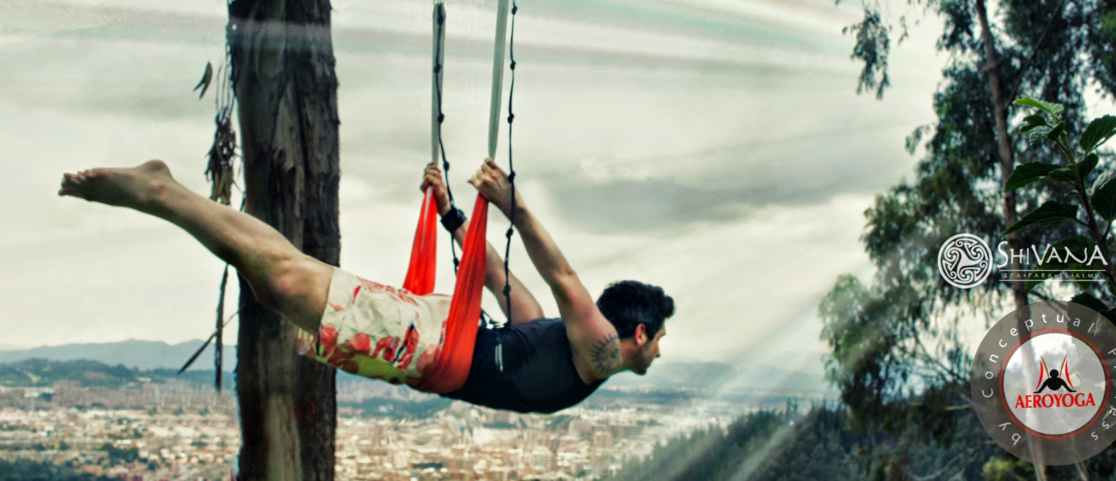 aerialyoga yoga aereo aero yoga Rafael Martinez