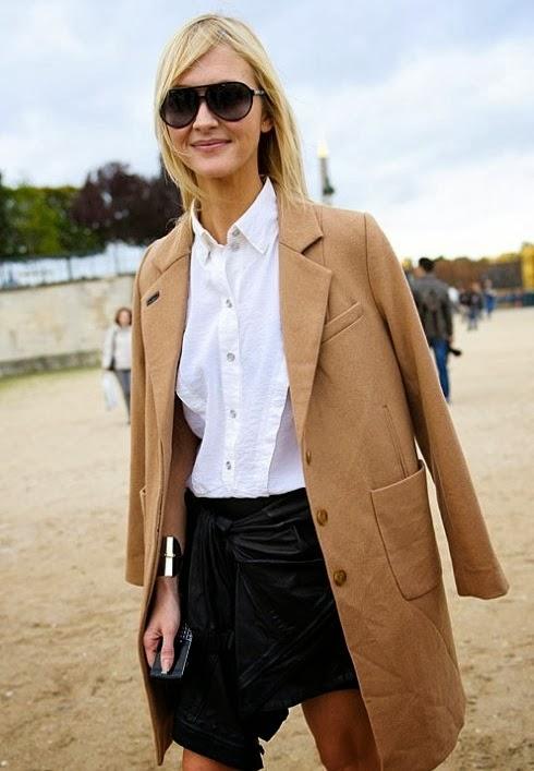 Zanna Roberts Rassi Camel Coat Vogue Street Style