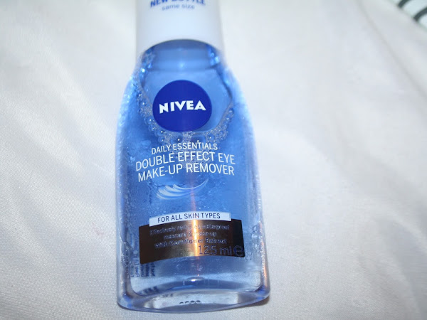 Nivea Double Effect Eye Make Up Remover