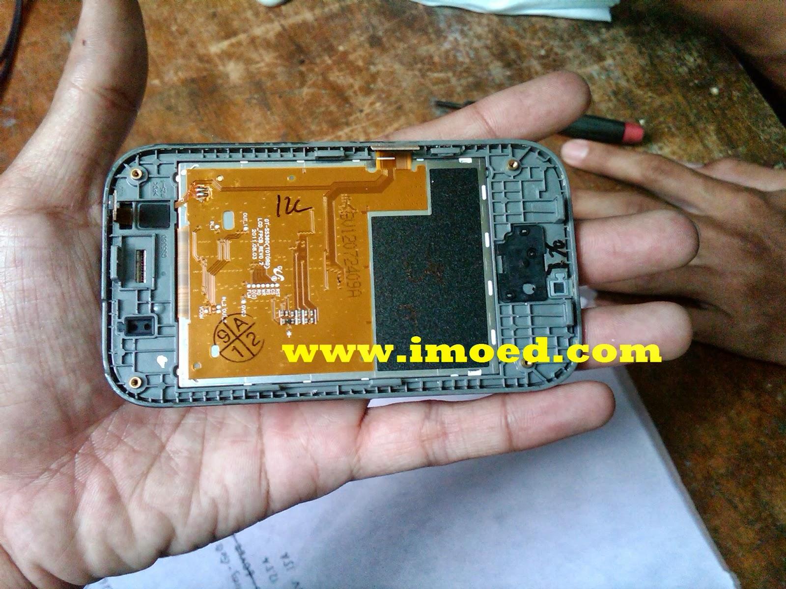 Tutorial Cara Bongkar Samsung Galaxy Young Gt S5360 Pramud Pocket Neo S5312 Putih