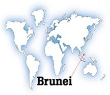 Map of Brunei