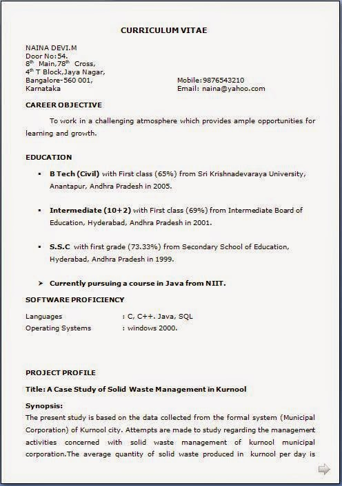 how make resume for job 02052017
