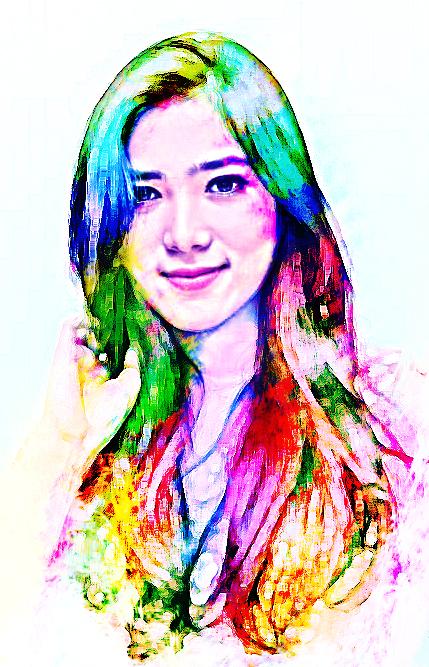 Isyana Sarasvati Gpp Effect Photoshop