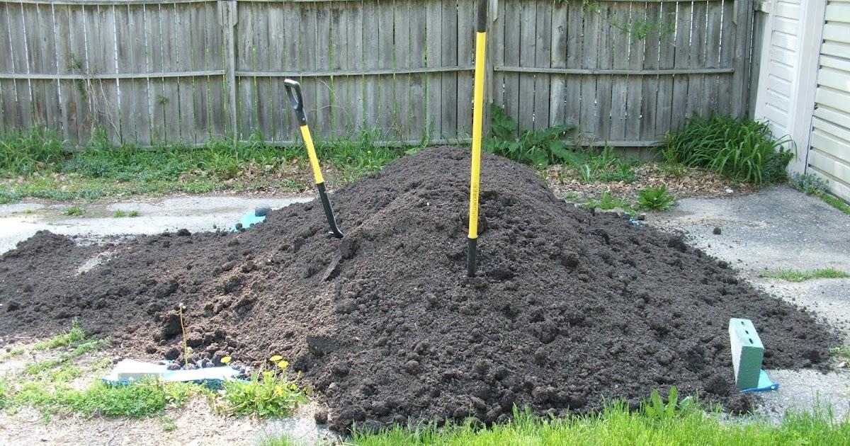 Cubic Yard Measurement Landscaping : Green zebra market garden four cubic yards of compost