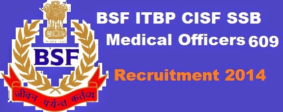 crpf medical officers jobs 2014