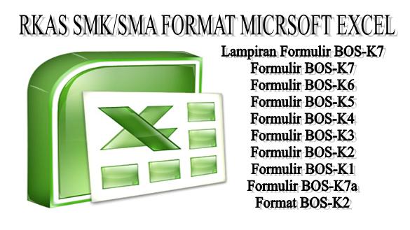 DOWNLOAD CONTOH RKAS SMK/SMA FORMAT MICRSOFT EXCEL