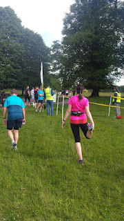 The Finish Line At Lanhydrock Park Run Cornwall