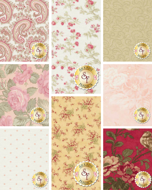 Shabby Fabrics | 3 Sisters Favorites 2014 by 3 Sisters for Moda Fabrics