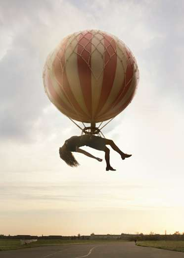 Sleeping in the Air - Creative Photography