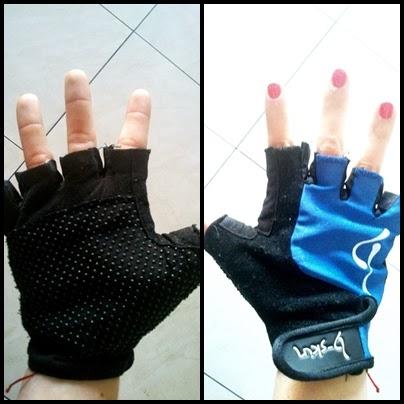 rękawiczki do treningu siłowego