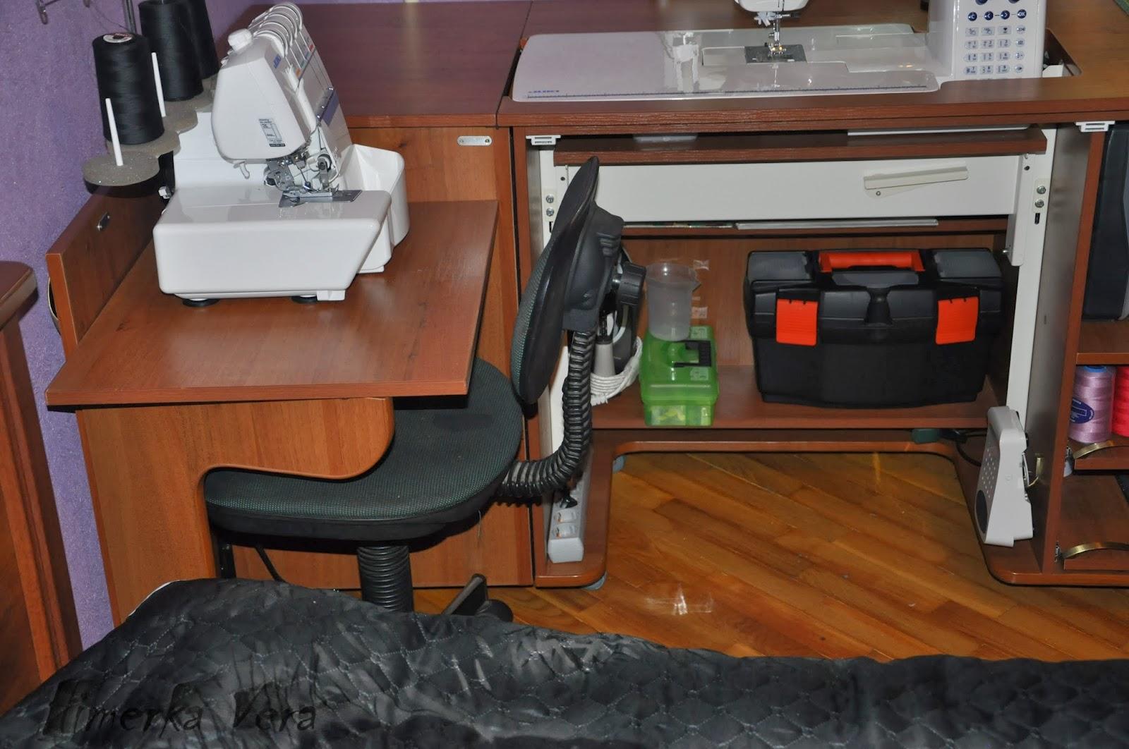 Стол для швейной машинка своими руками
