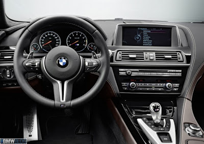Interior BMW M6 Gran Coupe 2013