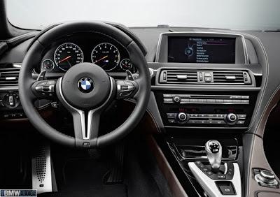 Interior BMW M6 Gran Coupe 2013