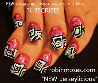 Orange and Black Nail Designs http://robinmosesnailart.blogspot.com/2011/08/jersylicious-nails-clockwork-orange.html