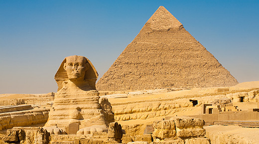 Fósil sugiere que las pirámides de Egipto y la Esfinge una vez estuvo sumergida bajo el mar