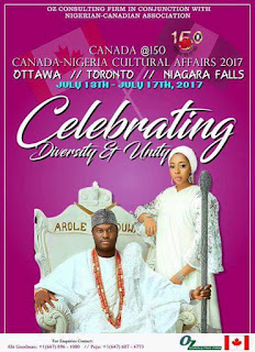 Canada At 150: Ooni Of Ife & Wife Land In Canada – See How They Were Received (Photos)