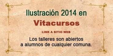 Talleres Ilustración 2014 Vitacursos