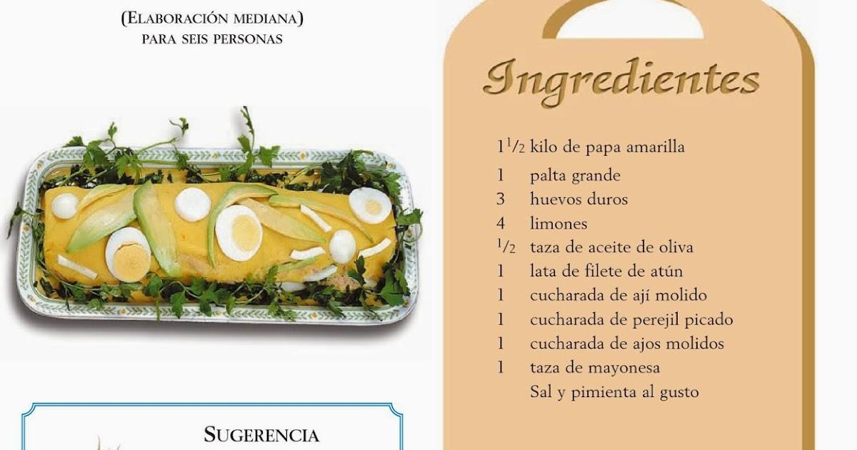 Como se prepara una causa rellena receta sencilla for Como se cocina la col