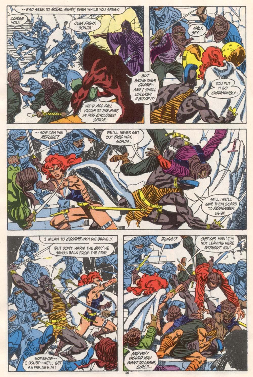 Conan the Barbarian (1970) Issue #246 #258 - English 17