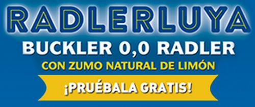 Cerveza BUCKLER Radler 0,0