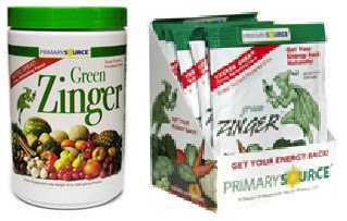 Image: Green Zinger Powdered Drink