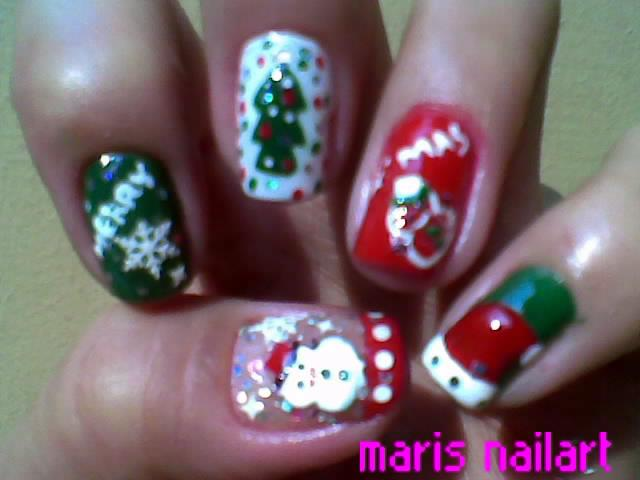 Christmas Nail Art Pictures - 14