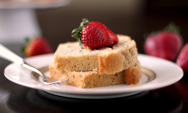 Healthy Vanilla Bean Pound Cake