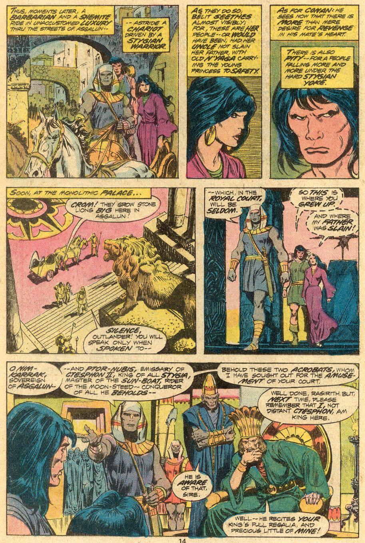 Conan the Barbarian (1970) Issue #72 #84 - English 9