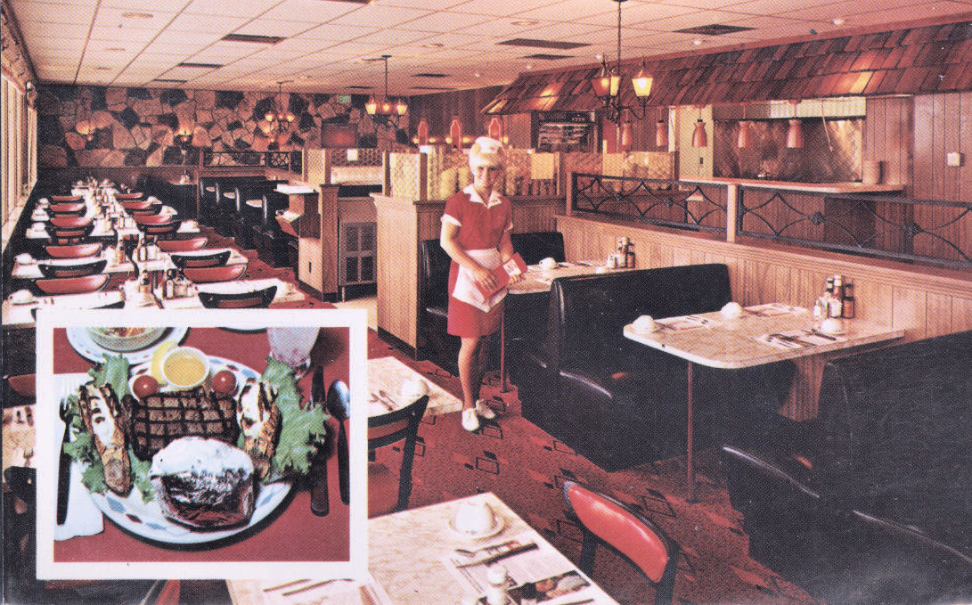 Inside View Of A Typical Mr Steak Restaurant