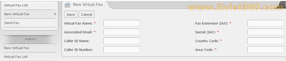 Cấu hình dịch vụ Fax trên Asterisk