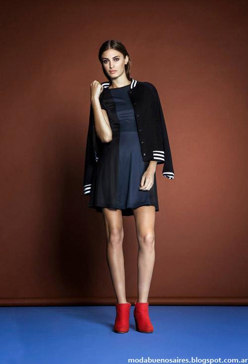 Moda Argentina otoño invierno 2014 vestidos. Estancias Chiripá colección otoño invierno 2014.