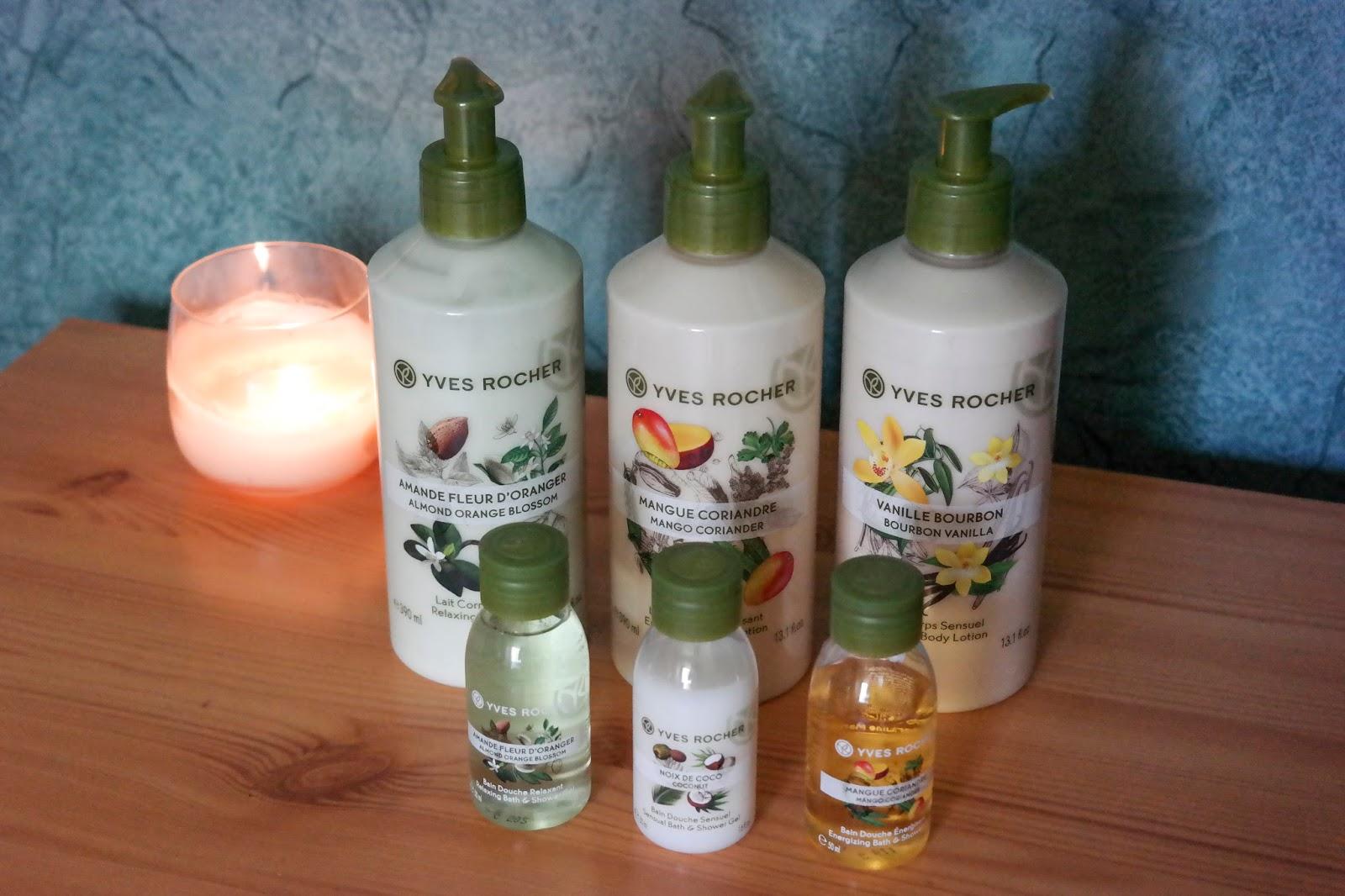 Relaxáló Yves Rocher termékek