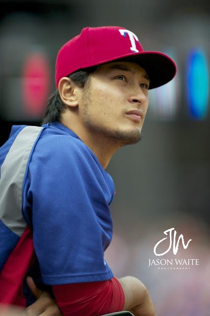 Rangers pitcher Yu Darvish