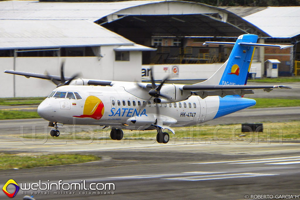 Satena Colombia ATR 42-500 ATR 72-500