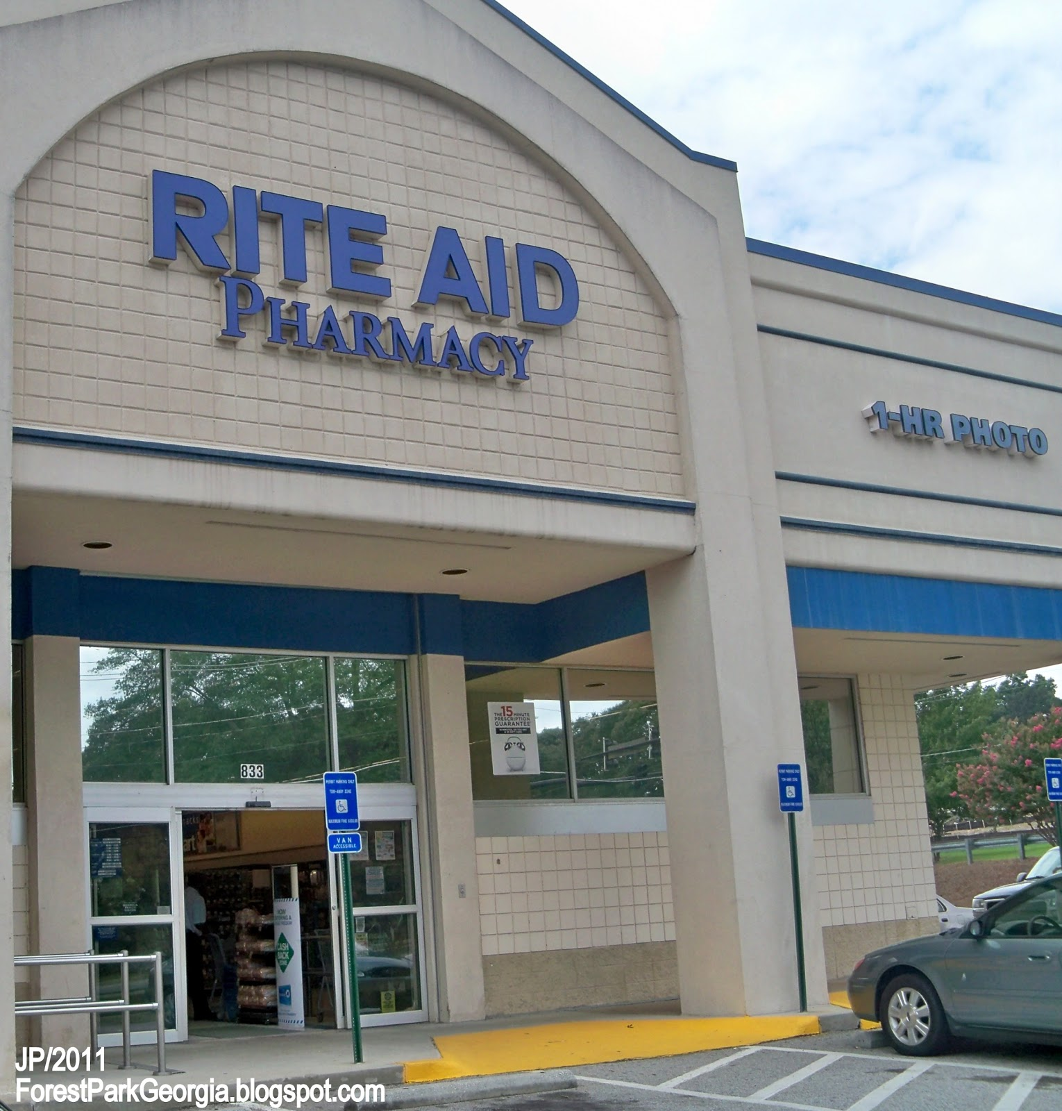 RITE AID PHARMACY FOREST PARK GEORGIA Rite Aid Drug Store Pharmacy Forest Park Clayton County GA