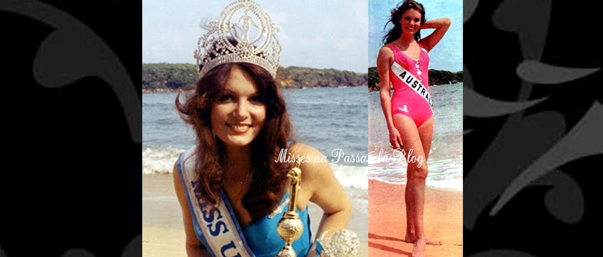 MISS UNIVERSO 1972 - KERRY ANNE WELLS