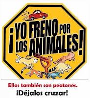 YO FRENO POR LOS ANIMALES