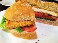 Crispy Tofu Burgers w/ Sweet Sriracha Mayo