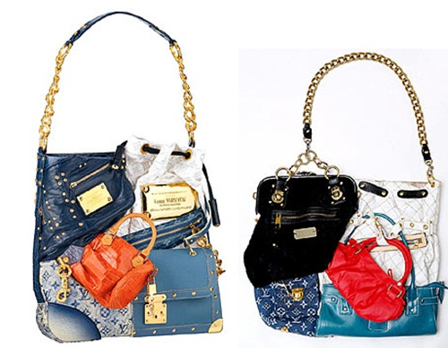 8. LV Tribute Patchwork