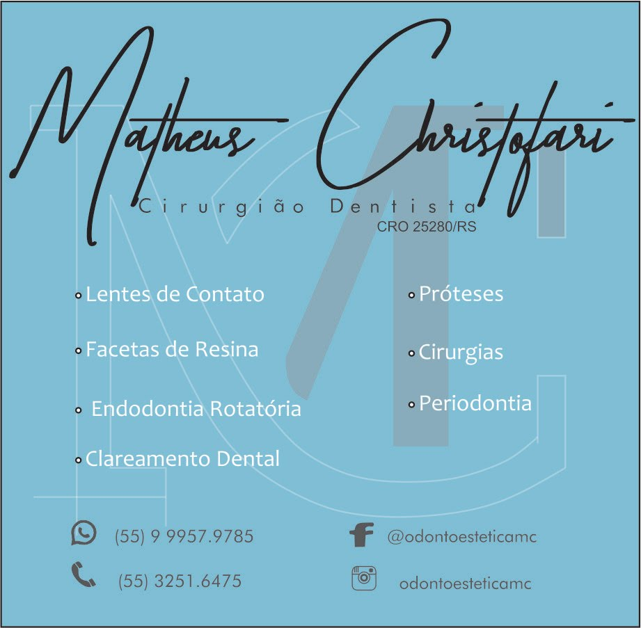 Cirurgião Dentista Dr. Matheus Christofari