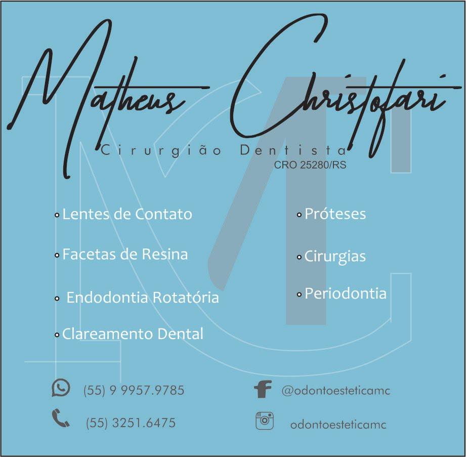 Cirurgião Dentista Dr. Matheus Christofari