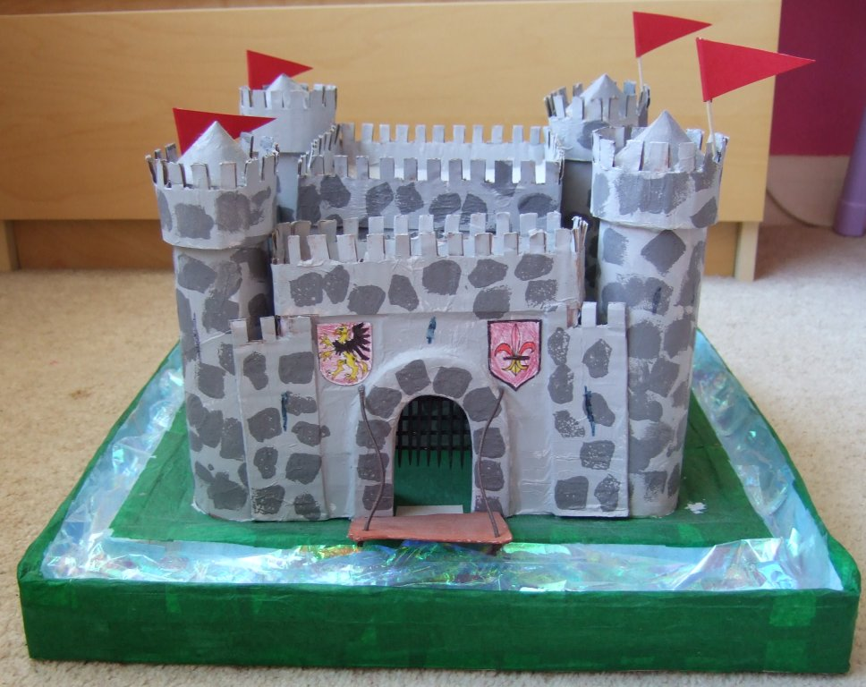 How to make a paper mache castle